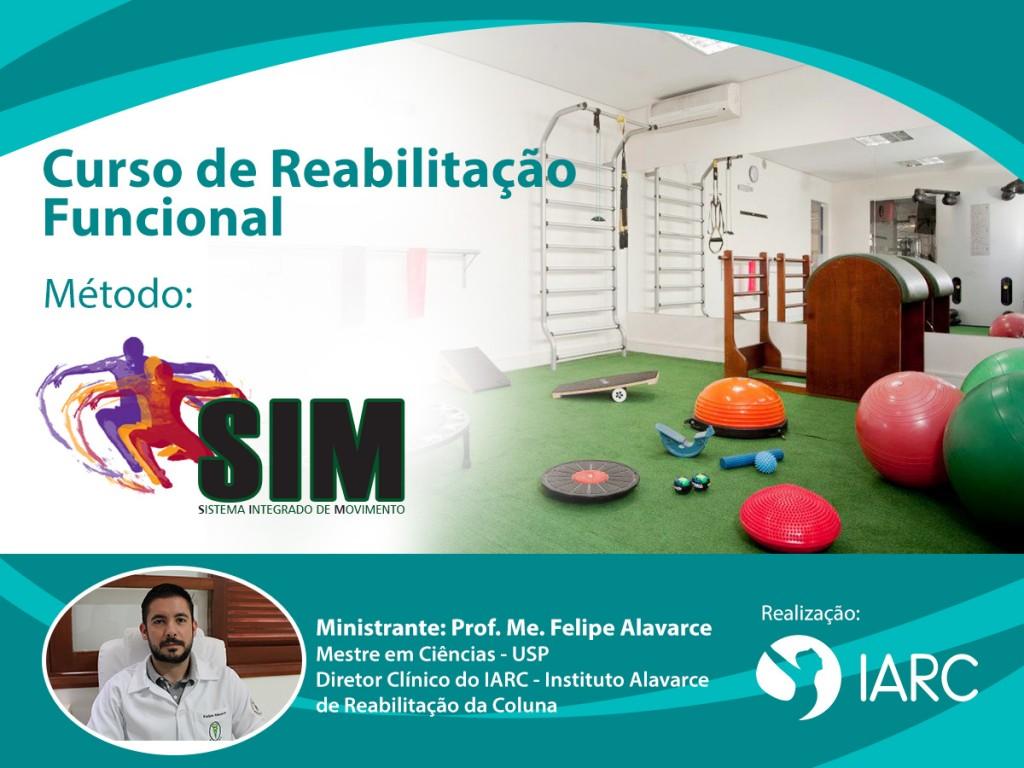 Curso de Reabilitação Funcional – Método Sistema Integrado de Movimento – SIM