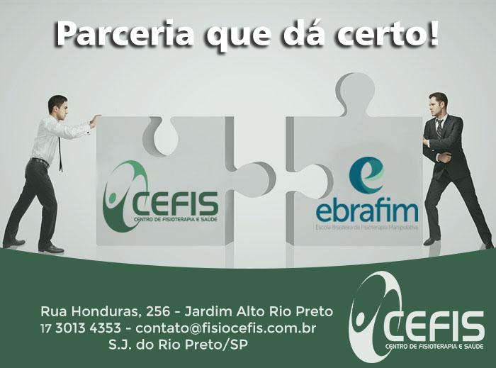 Parceria CEFIS e EBRAFIM
