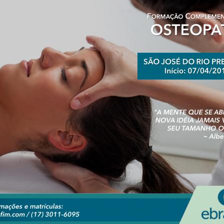 FORMAÇÃO COMPLEMENTAR EM OSTEOPATIA – Rio Preto