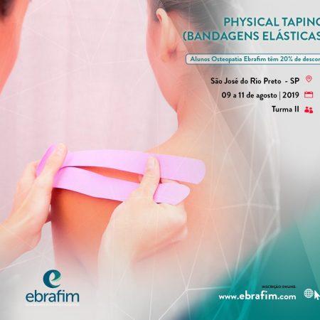 PHYSICAL TAPING (BANDAGENS ELÁSTICAS) – RIO PRETO TURMA I
