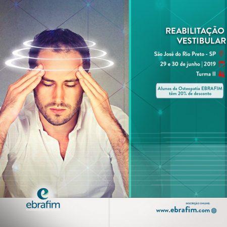 REABILITAÇÃO VESTIBULAR – RIO PRETO (TURMA II)