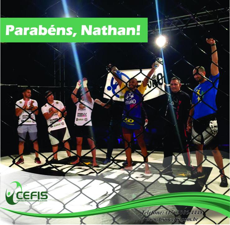 Nosso atleta, Nathan, vence o 2º Arena Fight